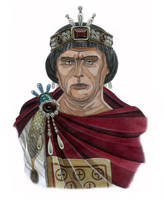 Anastasius I by AMELIANVS