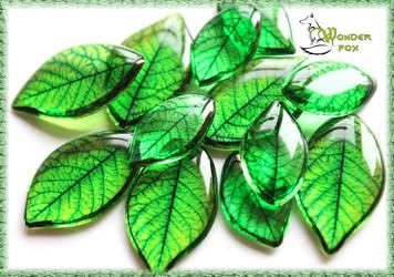 Green leaves by Wonder-fox