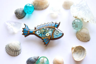 Mechanical fish by Wonder-fox