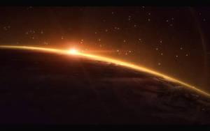 Mass Effect : Earth Wallpaper by iamsointense