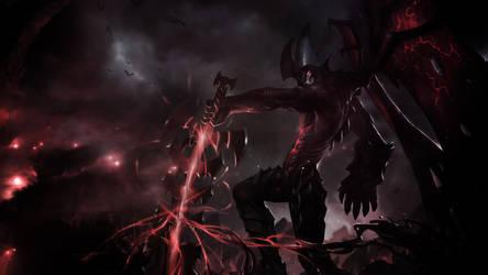 League Of Legends : Aatrox Wallpaper by iamsointense