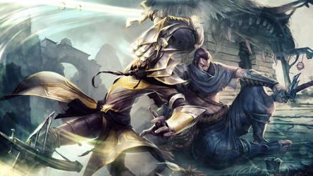 League Of Legends : Yisuo Wallpaper by iamsointense