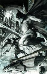 BATMAN  654 COVER by simonebianchi