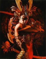 2005 ARTBOOK COVER:ONIRIKA by simonebianchi