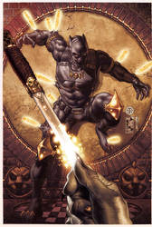 BLACK PANTHER COVER 3 by simonebianchi