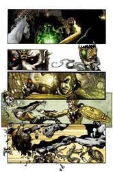 Shining knight issue 1 pg 7 by simonebianchi