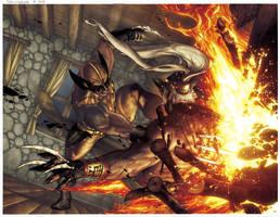 Wolverine: Sabretooth Reborn issue 1 pg 10 e 11 by simonebianchi