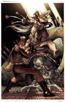 Simone Bianchi Wolverine Sab reborn issue 3 pg 20 by simonebianchi