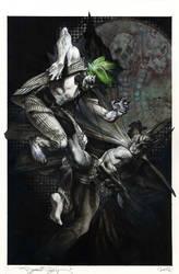 Simone Bianchi Batman and Joker by simonebianchi
