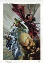 Uncanny Avengers # 2 variant cover by simonebianchi