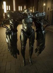 Gantz H-Suit Prototype (F) by Raelsatu
