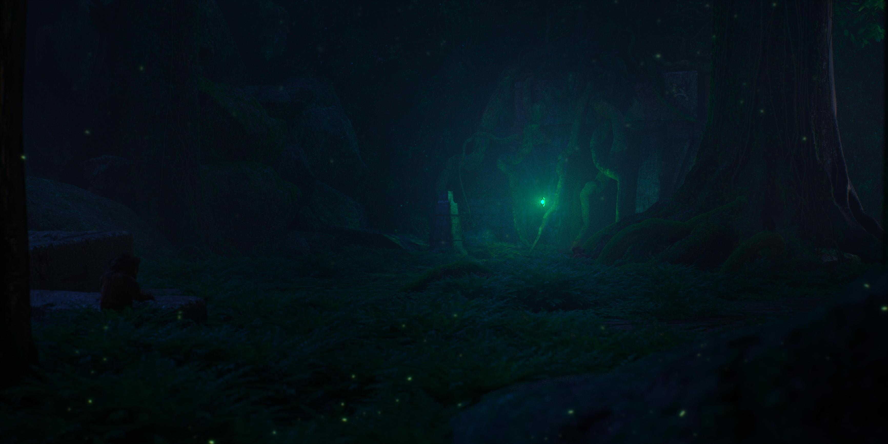 Vaal Ruins Night by Raelsatu