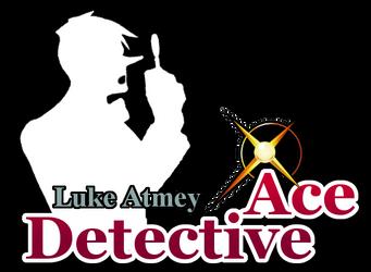 Luke Atmey - Ace Detective Fan Logo by MinuanoGS