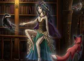 Lady of the Library by HetemSenar