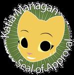 Katia Managan seal of Approval by AMKitsune