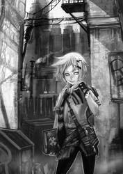 Drawskill manga sample by elsevilla
