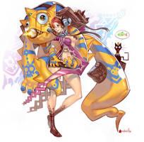 Ramses Elite guardian by elsevilla