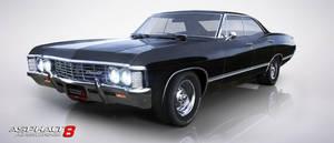 1967 Chevrolet Impala by GamePonySly
