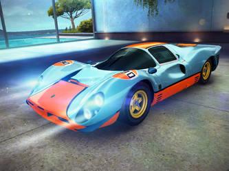 Ferrari 330 P4 by GamePonySly