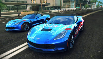 Chevrolet Corvette Grand Sport C7 by GamePonySly