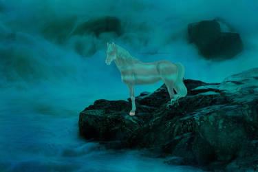 [Art Trade] Neptune by silverrosesHL