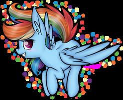 Rainbow Dash  by Shreezie