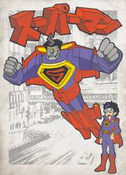 Iron Superman by MrXpk