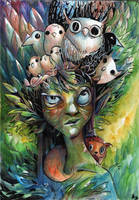 Dryad... by Pendalune