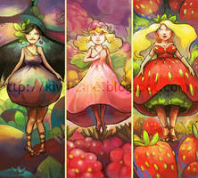 Trois fruits by Pendalune