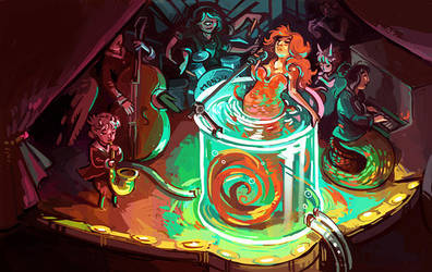 Celebrate Monster Girls! by Pendalune