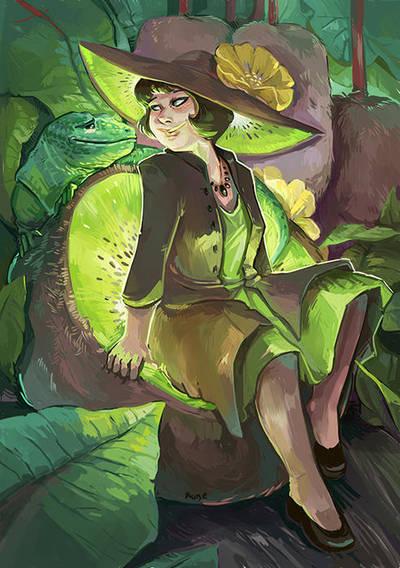 kiwi-girl by Pendalune