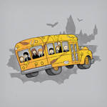 The Magic School Bus by thesleepingsky
