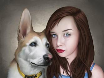 Retrato 006 by bdr2e37