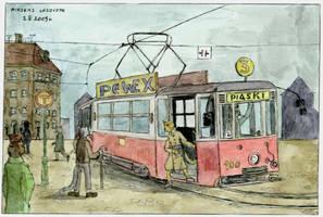 Line - 3 direction Piaski by mikopol