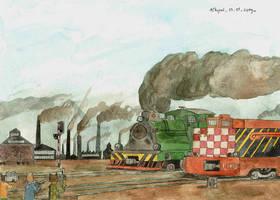 Locomotive Breath by mikopol