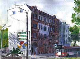Building at Walczaka street by mikopol