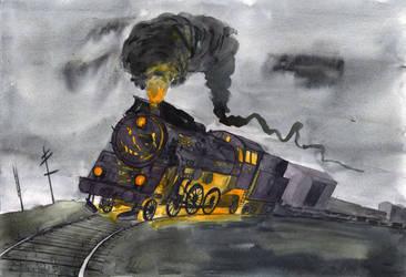 D Train by mikopol