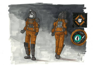 Space suit concept by mikopol