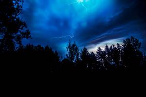 September 4th Grayling MI Storm by blackismyheart90