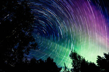 September 13th Star Trail by blackismyheart90