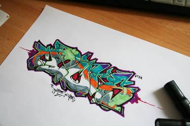 meuks sketch _ markerwars by stARNix63