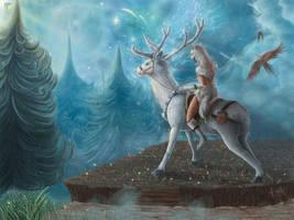Kingly Deer by CindyWorks