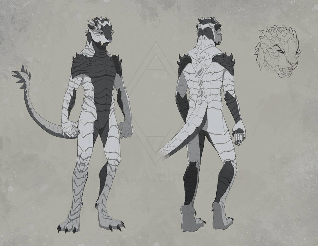 Kinn - Character Design by CindyWorks