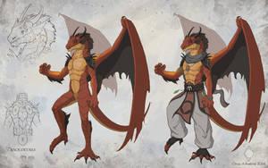 Haku - Character Design by CindyWorks