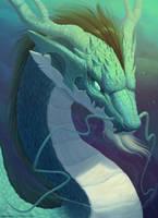 Eastern dragon by CindyWorks
