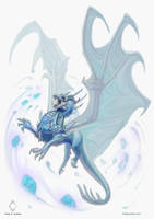 Ice Dragon - Regulus project by CindyWorks