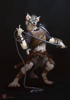 Zaith, the Gnoll by CindyWorks