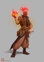 Firezard by CindyWorks