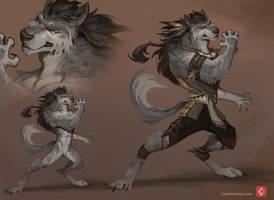 wolf by CindyWorks