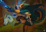 Lightning attack by CindyWorks